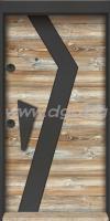 Входна врата,серия Лукс,модел STAR 15, цвят Нюанс