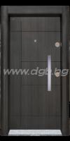 Входна врата, модел SL 203 Черна перла