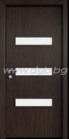 Интериорна врата Advanced, модел TW,остъклена